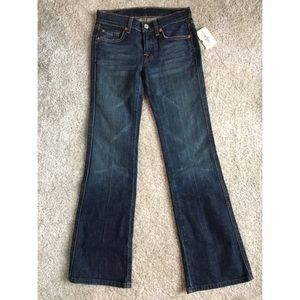 NWT 7 for All Mankind Girls Flare Jeans size 10